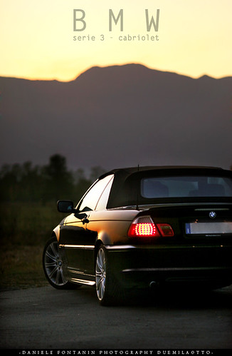 Teo BMW serie 3 cabriolet - sunset