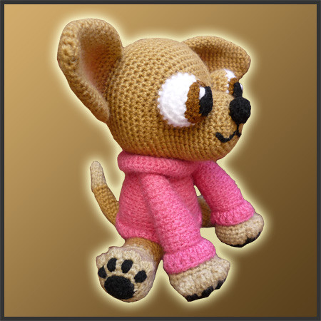 CLOTHES CROCHET DOG FREE PATTERN « CROCHET FREE PATTERNS