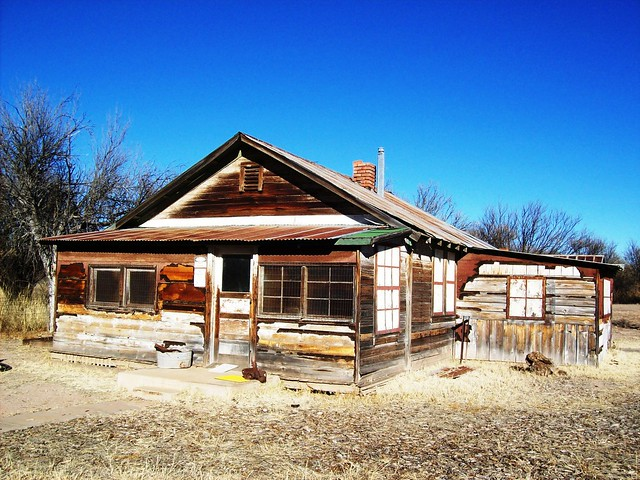 Rebuilt house at the ghost town of Fairbank, AZ - fairbank23