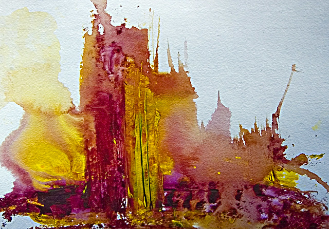 Watercolor Images Abstract Abstract Art Watercolor In