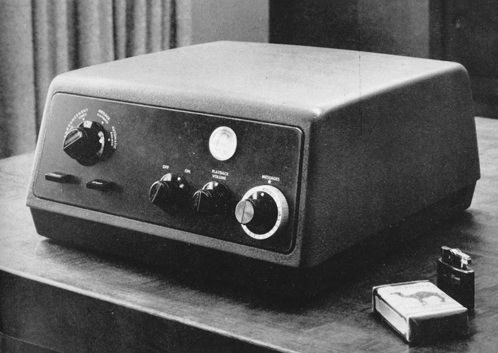 telephone recording machine