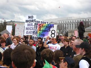 Washington DC Demonstration for Equality November 15 2008