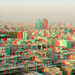 Tehran,North East view_Anaglyph 3D (You need Red/Cyan glasses) آناگلیف by Shahrokh Dabiri