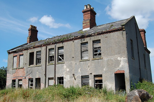 rundown house in Selby