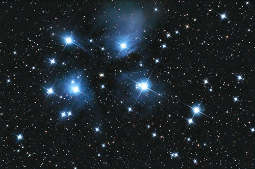 The Pleiades (Messier 45) revisited