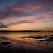 Sunset over Poole Harbour by Terry Yarrow