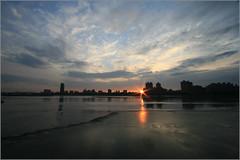 淡水河畔夜景