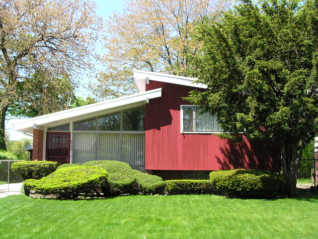 when the suburbs came to Chicago (built in 1956-57)