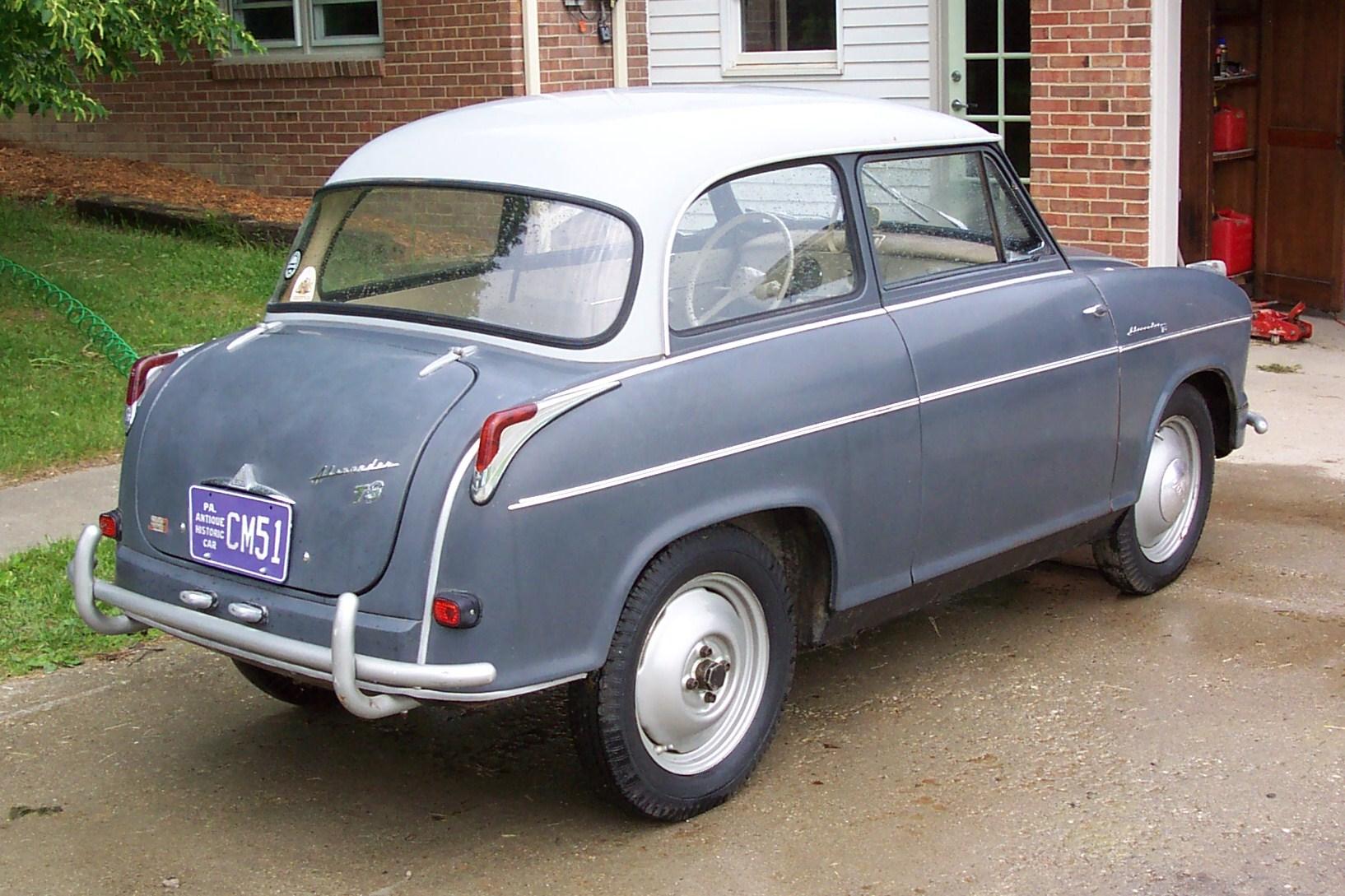 lloyd alexander ts 1959 borgward car lcar cars classic old pictures. Black Bedroom Furniture Sets. Home Design Ideas