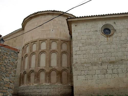 Alba de Cerrato (Palencia). Iglesia de Nuestra Señora del Cortijo. Ábside