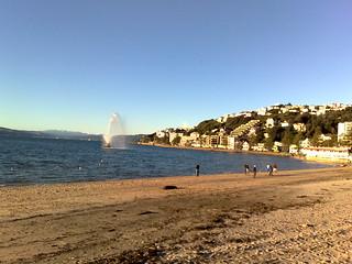 Image de Oriental Beach près de Wellington. wellington