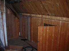 outdoor structure(0.0), garden buildings(0.0), stall(0.0), beam(0.0), floor(1.0), wall(1.0), attic(1.0), wood(1.0), room(1.0), property(1.0), wood stain(1.0), hardwood(1.0),