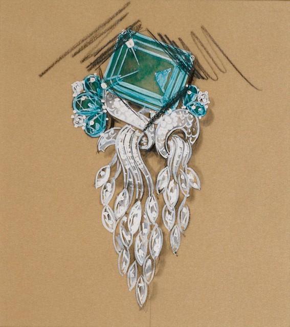 Blue Topaz Diamond Band Ring