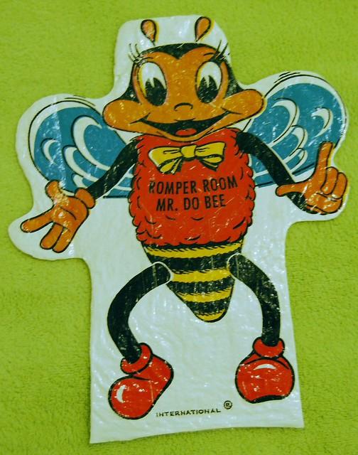 Romper Room Bee Puppet