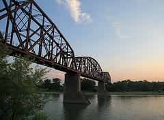 Bismarck - Mandan Railroad Bridge