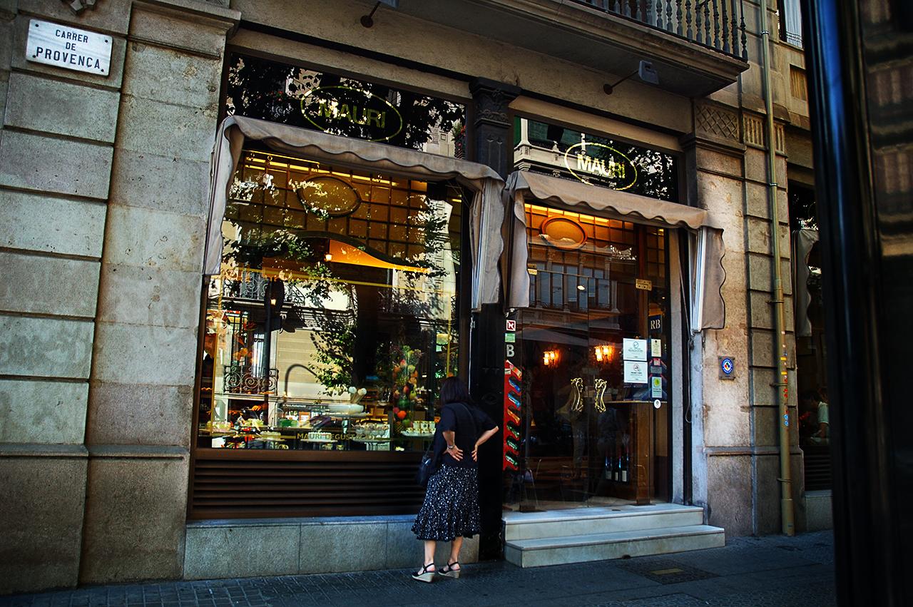Barcelona photoblog best pastry shops in barcelona mauri - Tea shop barcelona ...