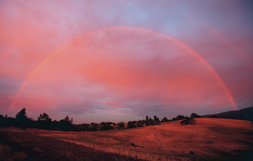 Rainbow Sunset