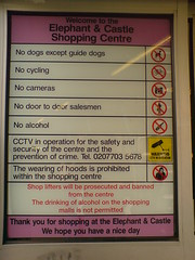 welcome to elephant and castle shopping centre