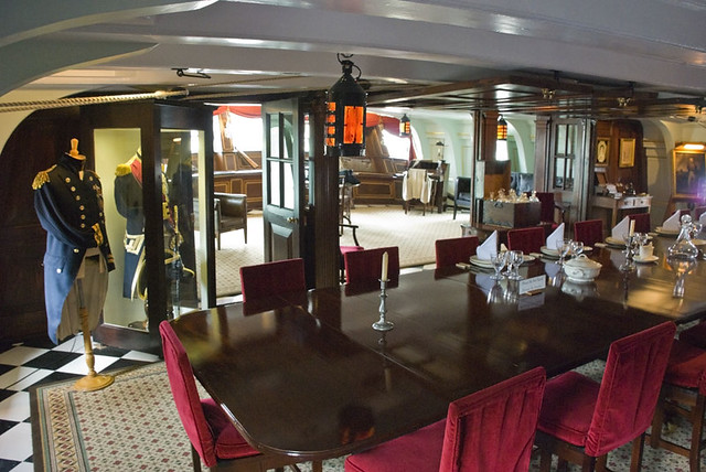 Fine Dining HMS Victory Flickr Photo Sharing