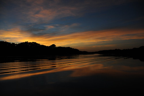sunset lj portfolio larryjohnson lakedunlap