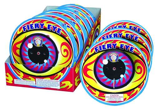 Epic Fireworks - Fiery Eye Wheel By Brothers Pyrotechnics