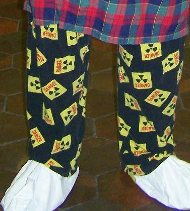 Dangerous Pajamas Detail