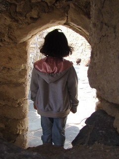 Image de Koules près de Dimos Heraklion. girl creta greece heraclion κορίτσι κρήτη ελλάδα koule ηράκλειο παιδί κούλε