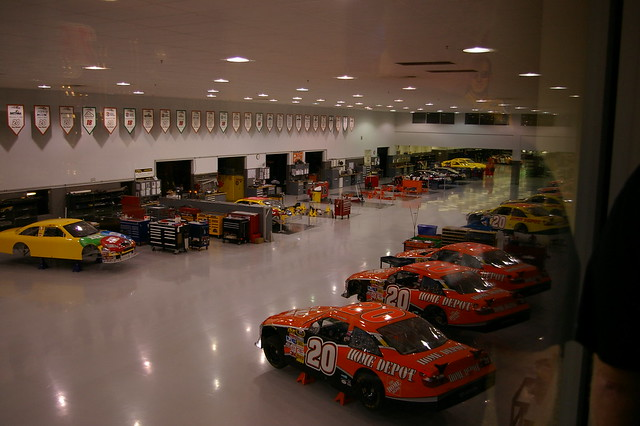Joe Gibbs Racing - Race Shop from Flickr via Wylio