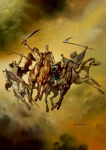Boris Vallejo - Four Horsemen of the Apocalypse