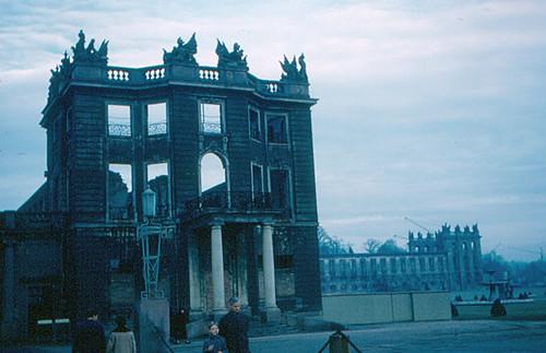 Karlsruhe - Schloss (Not Yet Rebuilt)
