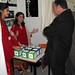 O director xeral de I+D+i, Salustiano Mato, atende as explicacións das responsables do proxecto 'Xoguetes  bl@ bl@ bl@' (Colexio Santa María del Mar. Barcelona). Galiciencia. 18 de novembro de 2008