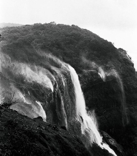 Lake Charlotte Runoff Waterfall, Matheran