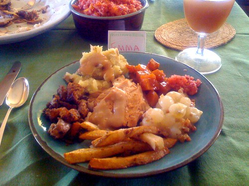 Prelude to a food coma | Oh, Thanksgiving. You so crazy ...
