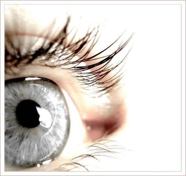 My eye as a model
