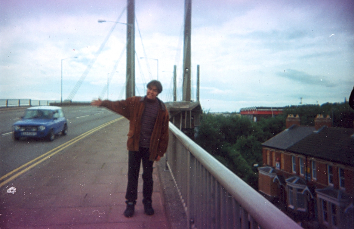 Bridge over the Severn river, 1998