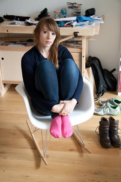 girls in socks