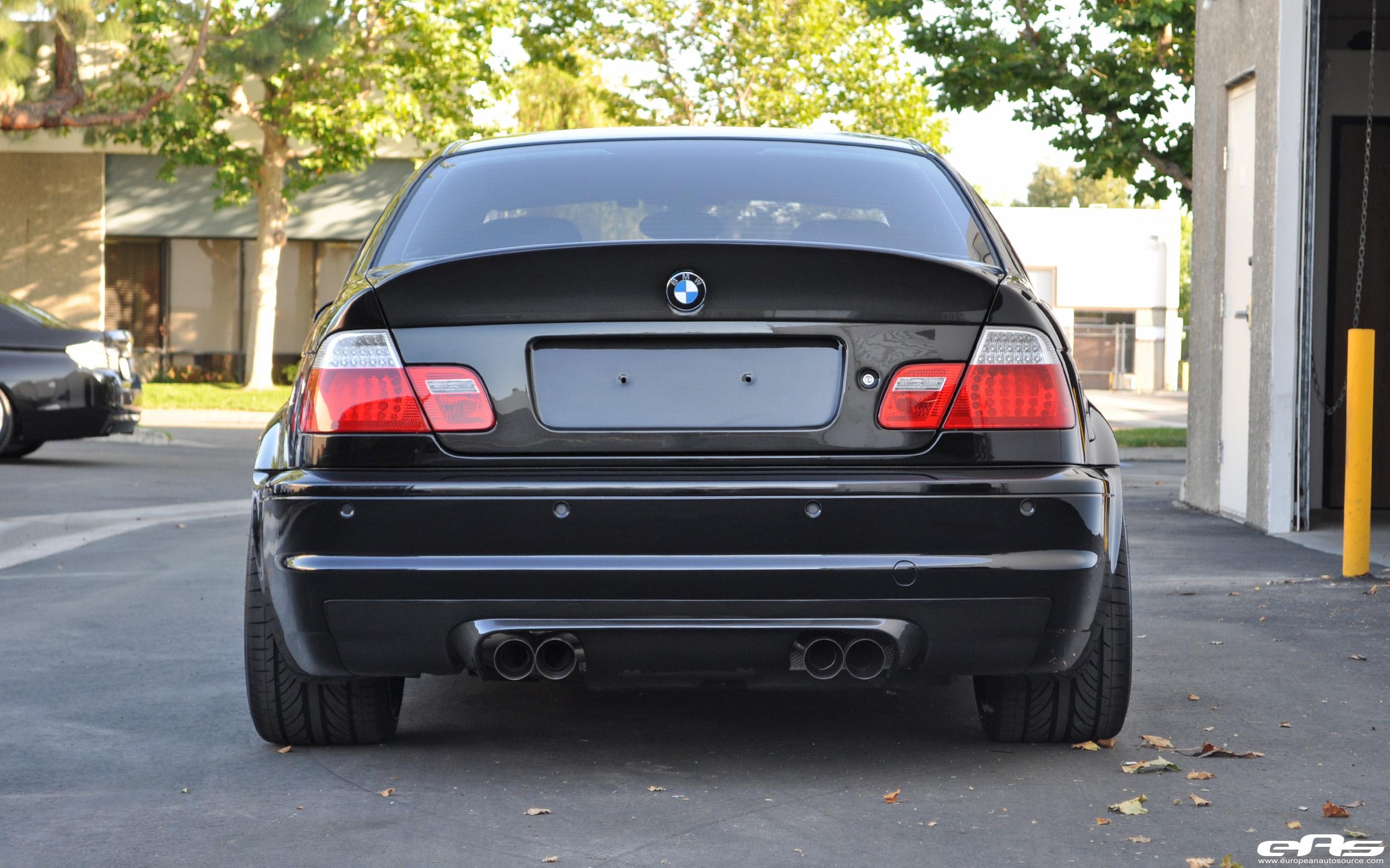 Black E46 M3 With Magnesium Blue Volk Ce28 Wheels Bmw