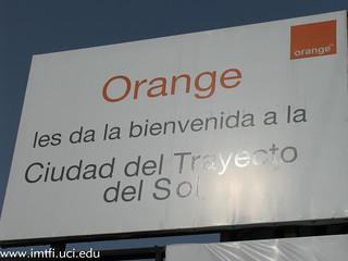 Ad for Orange