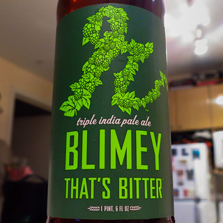 Reuben's Brew Blimey That's Bitter Triple IPA
