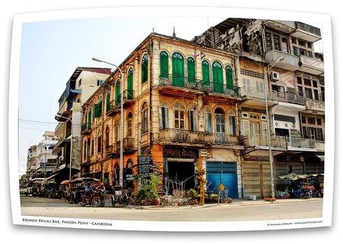 cambodia khmer phnompenh tomwaits smallchange oldfrenchvilla brokenbricksbar