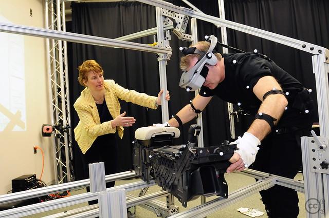 Assembly line virtual technology demonstration flickr Ford motor company technology