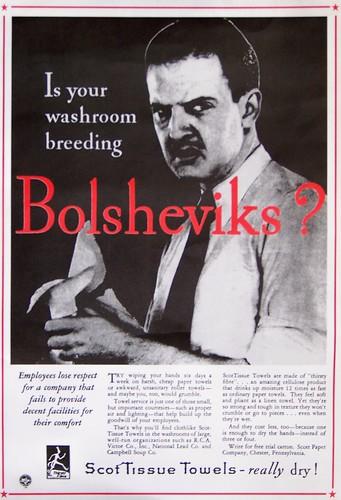 Is your washroom breeding Bolsheviks? by Will S.