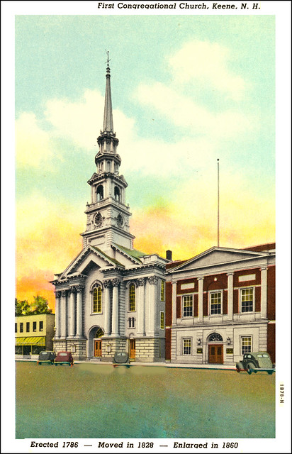 Churches of Keene and Cheshire County NH