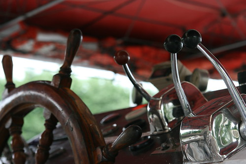 Wheel & Gears on the Paddle Boat