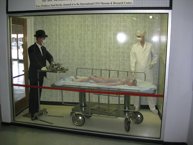 Header of Alien Autopsy