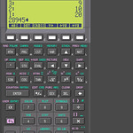 HP Calculator on the OpenMoko platform