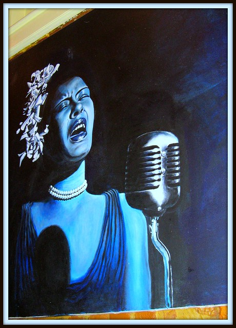 Billie holiday photos billie holiday images ravepad for Billie holiday mural