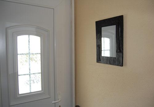 Miroir baobab rectangulaire en fer forg explore objets for Miroir fer forge ikea