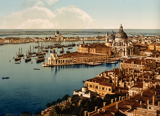 View from campanile San Marco, Venice, Italy, ca. 1895