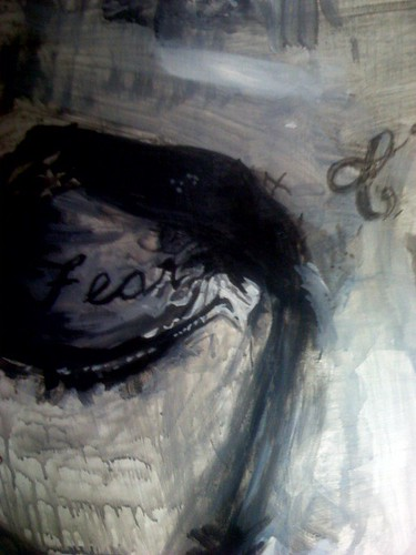 lil wayne (left eye) -painting in progress